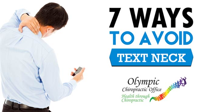 7 Ways To Avoid Text Neck