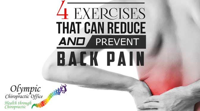 4 Exercises That Can Reduce And Prevent Back Pain