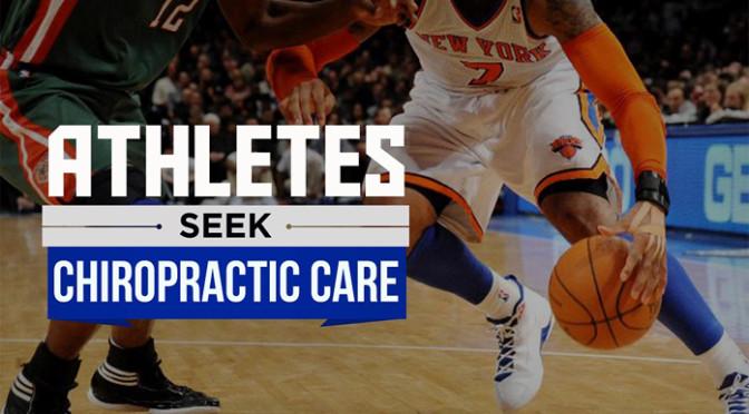 Athletes Seek Chiropractic Care
